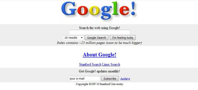 Google antiguo