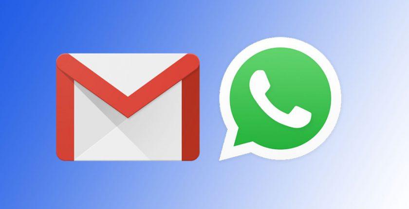 gmail y whatsaap