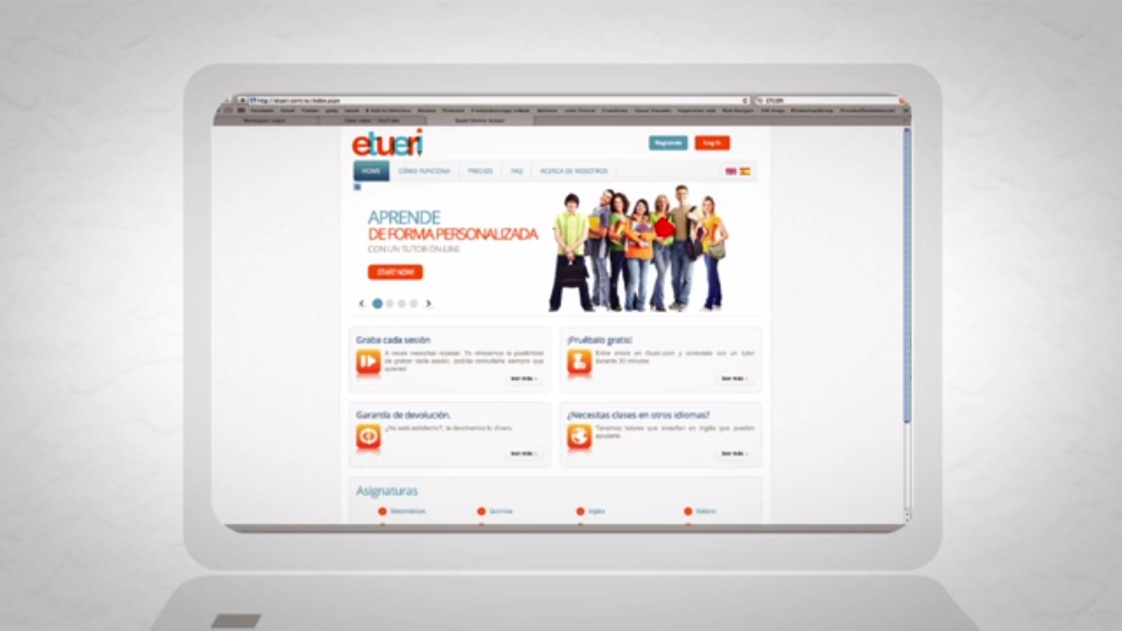 Etueri.com - Trayectoria y futuro de las clases particulares online