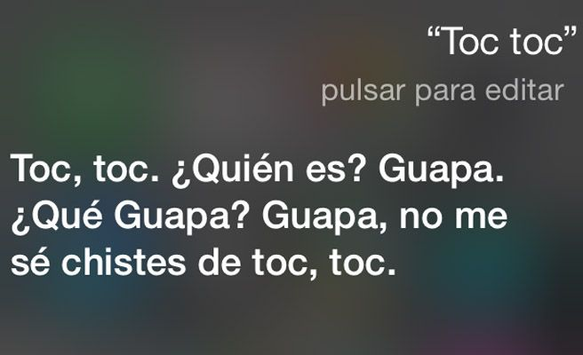 El humor de Siri