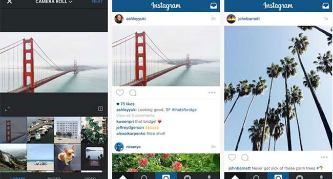 post 1 Instagram se moderniza