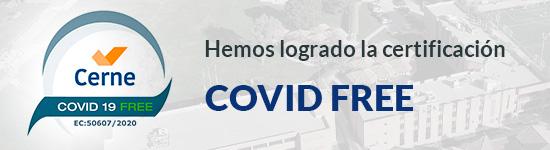 certificación covid free